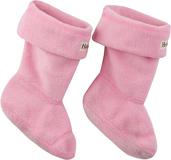 Hatley Girls Magenta Boot Liners Ankle Socks