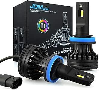 JDM ASTAR T1 H11 H16 All-in-One Upgrade Vision White LED Headlight Bulbs/Fog Light Bulbs