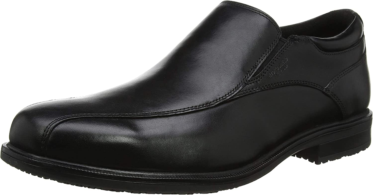 Rockport Esntial Dtlii Bike So Black Lea, Mocasines para Hombre
