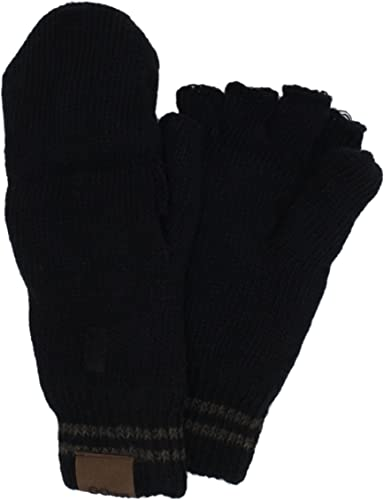 Handmade Mittens Mens Grey Heather
