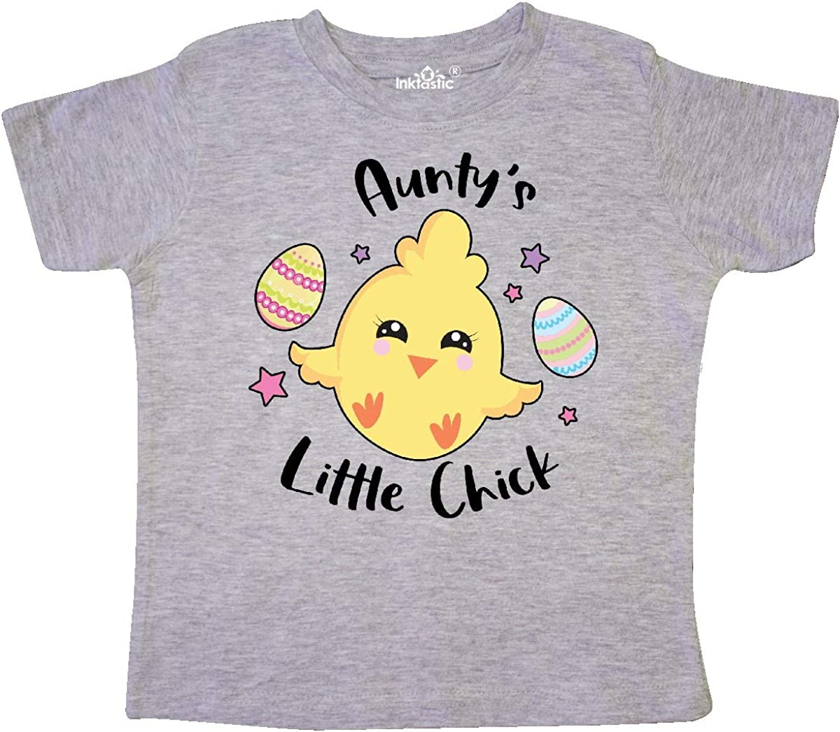 inktastic Happy Easter Auntys Little Chick Toddler T-Shirt