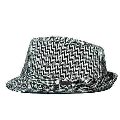 Heritage Traditions Herringbone Tweed Trilby Hat  Amazon.co.uk  Clothing ed8b81166e9