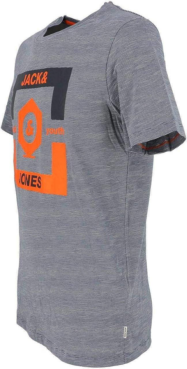Jack /& Jones Jcostrong tee SS Crew Neck Camiseta para Hombre