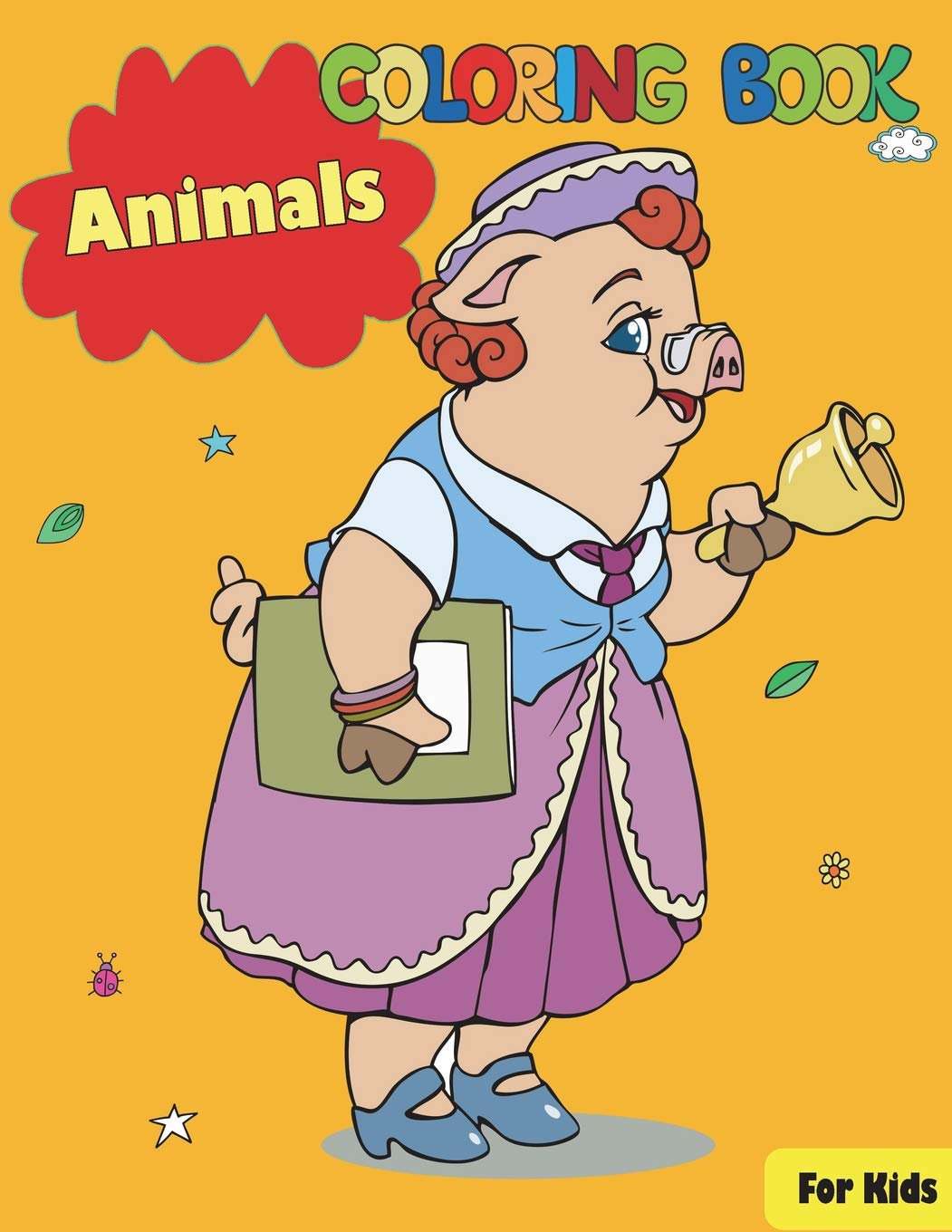 Download Animals Coloring Book For Kids Text fb2 ebook