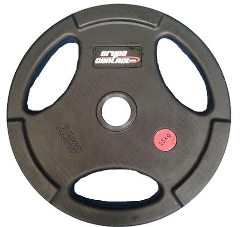 Kroon-5kg-Discos de pesa-olímpica-goma-50mm-Conjunto: Amazon.es: Deportes y aire libre