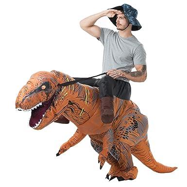 BOBOO T-Rex Disfraz de Dinosaurio Inflable para Adultos para ...