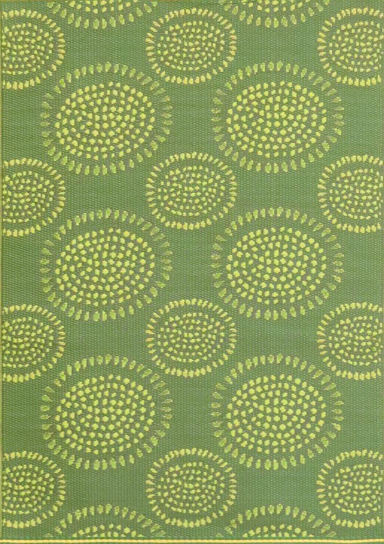 Mad Mats® Molly Indoor/Outdoor Floor Mat, 6 by 9 Feet, Green