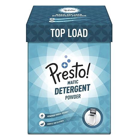 Amazon Brand - Presto! Matic Top Load Detergent Powder - 2 kg