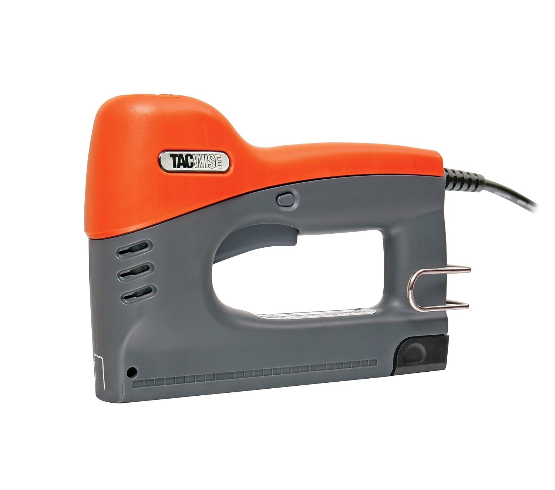 Tacwise 140EL HOBBY  Agrafeuse//cloueuse /électrique DIY avec pointes 18G et agrafes 140