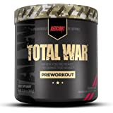 Redcon1 Total War - Pre Workout, Boost Energy, Increase Endurance and Focus, Beta-Alanine, 350mg Caffeine, Citrulline Malate,