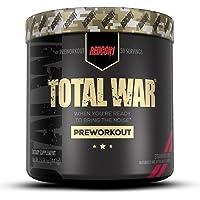 Redcon1 - Total War Preworkout Powder - Strawberry Kiwi - 30 Servings - Insane Energy, Laserlike Focus, Insane Endurance…