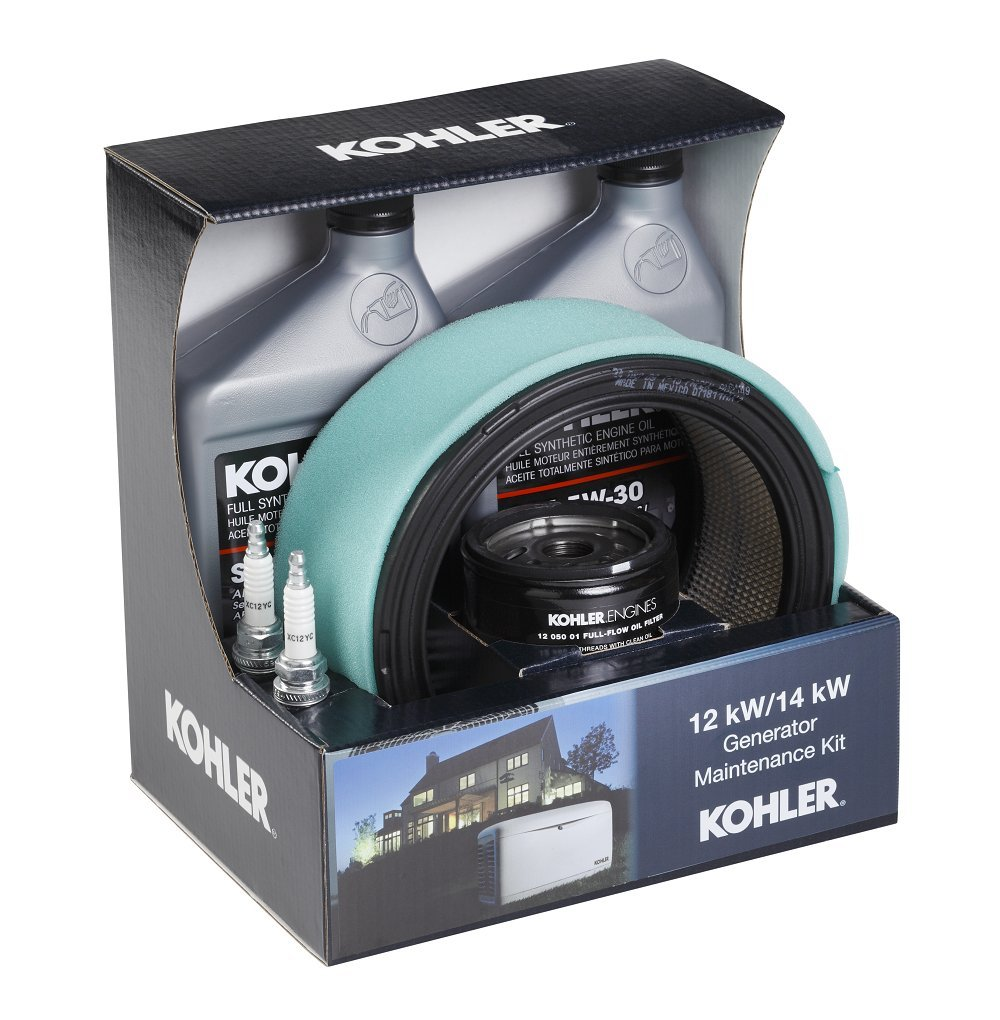 Amazon.com : Kohler GM62346 Maintenance Kit for 12/14 kW Residential  Generators : Generator Accessories : Garden & Outdoor