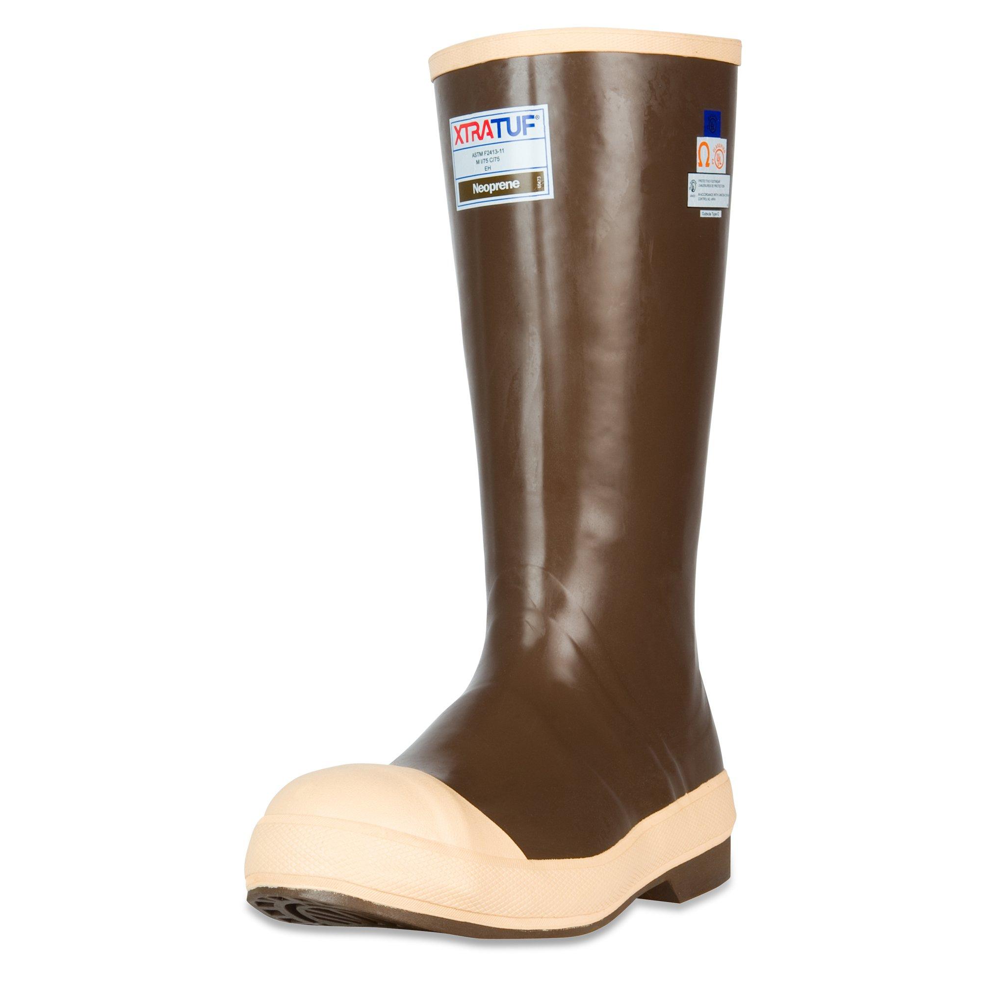 XTRATUF Legacy Series 15'' Neoprene Steel Toe Men's Fishing Boots, Copper & Tan (22271G)