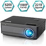 Amazon.com: Portable Projector -12000 lumens WiFi 1080p ...