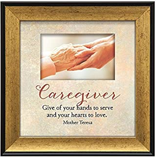 """product image for Imagine Design 7.5""""x7.5"""" Caregiver Touching Thoughts Framed Wall Art, 7.5"""" x 7.5"""""""