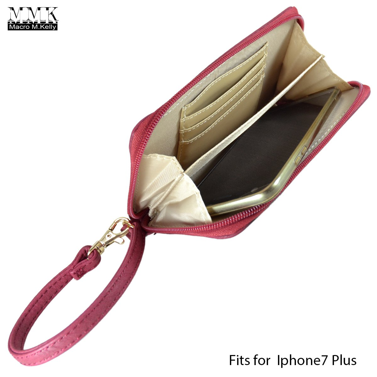 MMK collection Fashion handbag~Classic Tote bag~Holiday gift purse with Wallet~Beautiful Handbag wallet set~Crossbody handbag (MA-07-6717-BK/CF) by Marco M. Kelly (Image #4)
