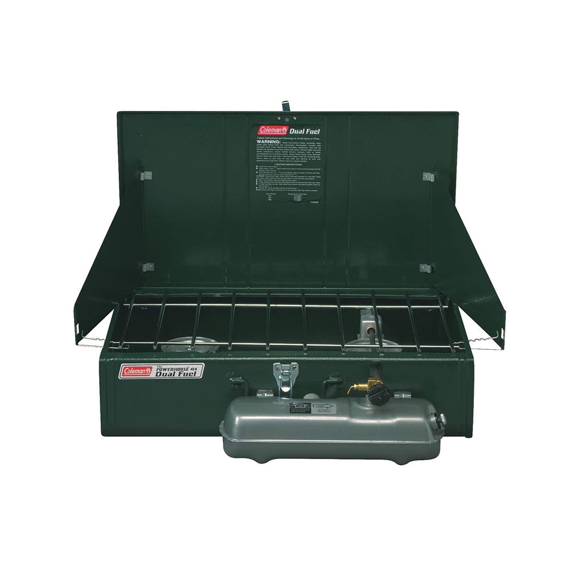Coleman Guide Series Powerhouse Dual-Fuel Camping Stove, 2-Burner by Coleman