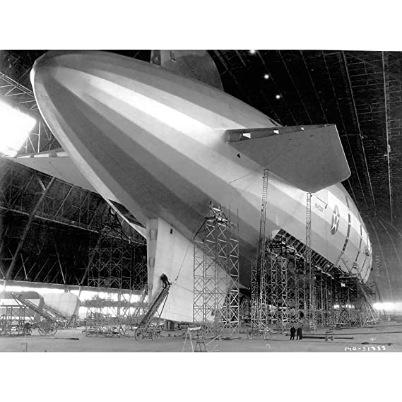 PHOTOGRAPHY AIR SHIP 1933 USS MACON NEW FINE ART PRINT ...