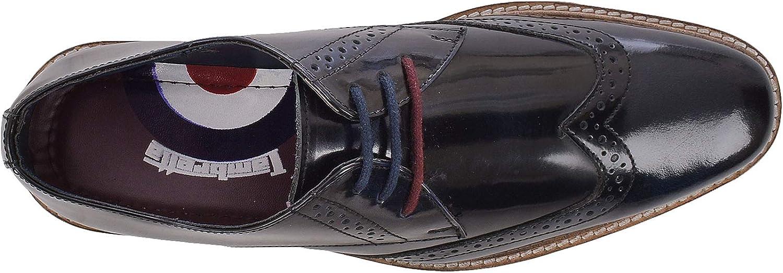 Lambretta Mens Franky Brogue Shoes