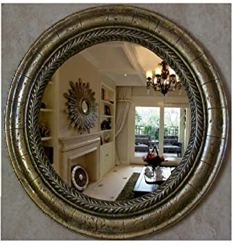 Large Round Decorative Mirror.Amazon Com European Mirror Bathroom Mirror American