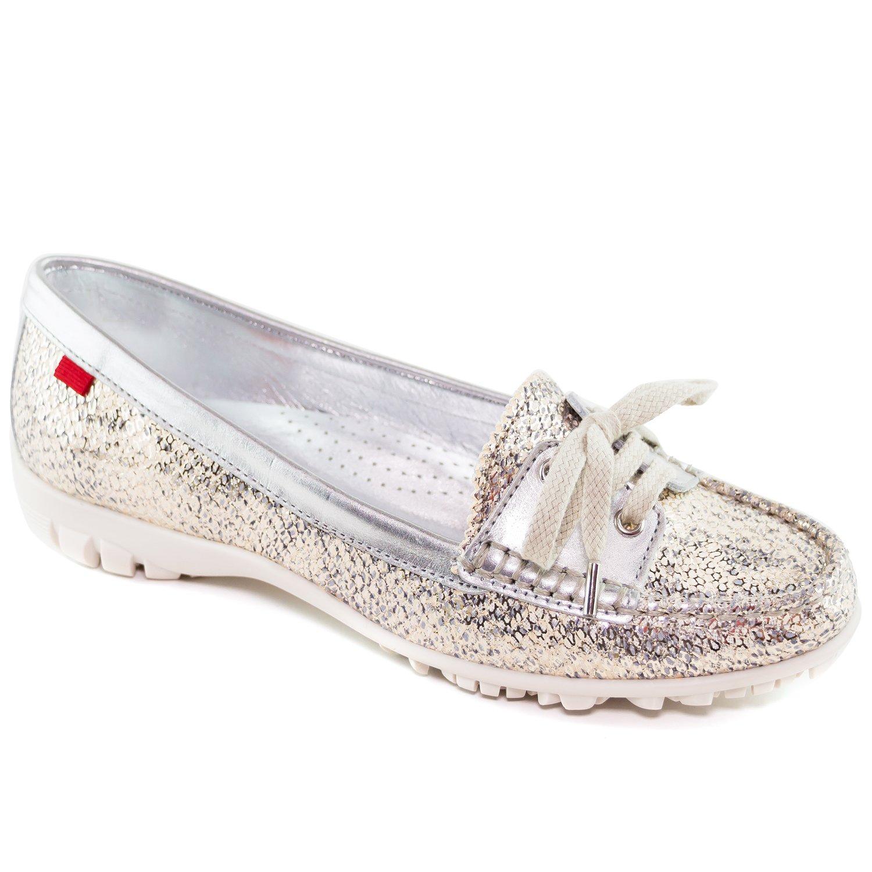 NY女性のファッション靴LibertyゴルフMoccassin US B06XYXFZN8 Gipsy 9 Marc Silver Joseph B(M)