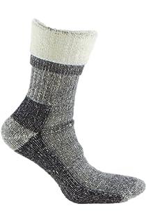 Calcetines de LANA MERINO de TREKKING, con costuras técnicas, ideal para deportes de invierno