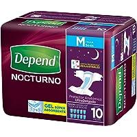 Depend Pañal para Adulto Nocturno - Mediano, 60 pañales (6x10)