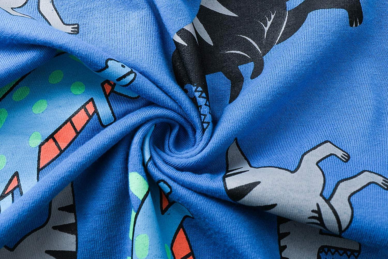 WWAXU Boys Pajamas Children Clothes Set Stars 100/% Cotton Little Kids Pjs Sleepwear
