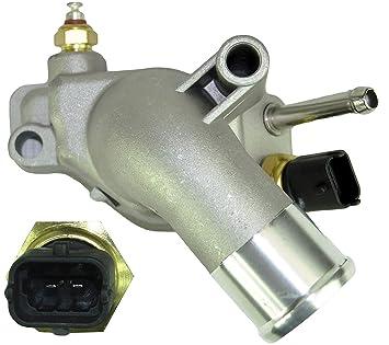 D2P para Opel Corsa C/GST, Meriva, Signum 1.8 termostato con Vivienda 6338005: Amazon.es: Coche y moto