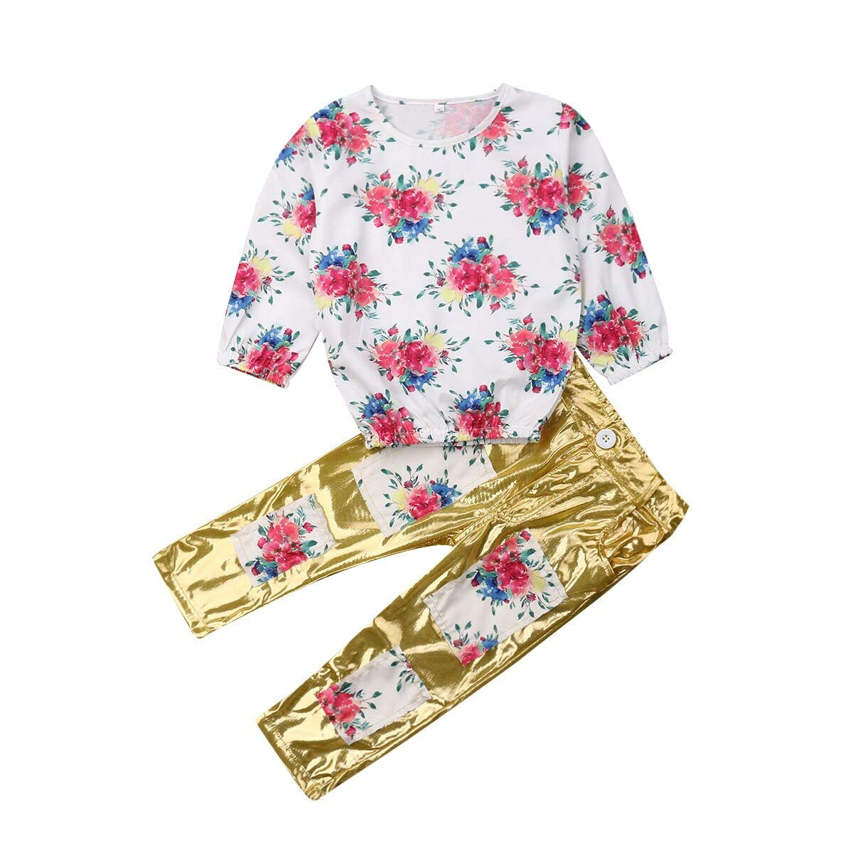 Leggings Pants Outfits 2019 Toddler Kids Baby Girl Outfit Clothes T-shirt Tops
