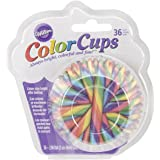Wilton 415-2863 36 Count Multi- Candy Cane Baking Cups, Assorted