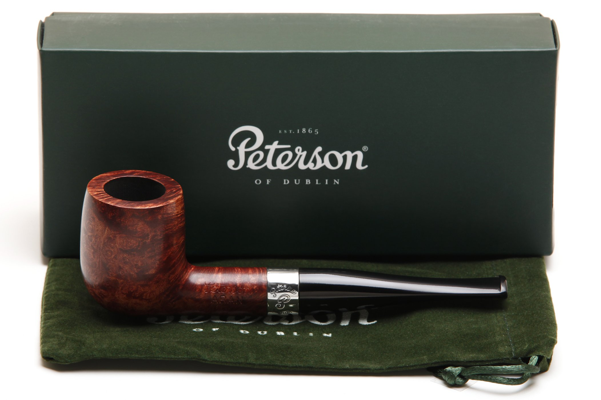 Peterson Aran 06 Tobacco Pipe Fishtail by Peterson