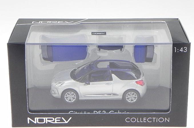 silber//blau 1:43 NEU /& OVP Norev 155289 Citroen DS3 Cabrio 2013
