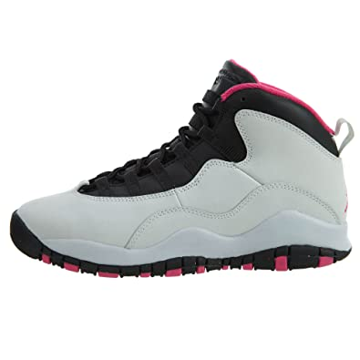 cheap for discount 1e035 dbedb Amazon.com  Air Jordan 10 GS Vivid Pink Boys Sneakers 487211-008  Jordan   Shoes