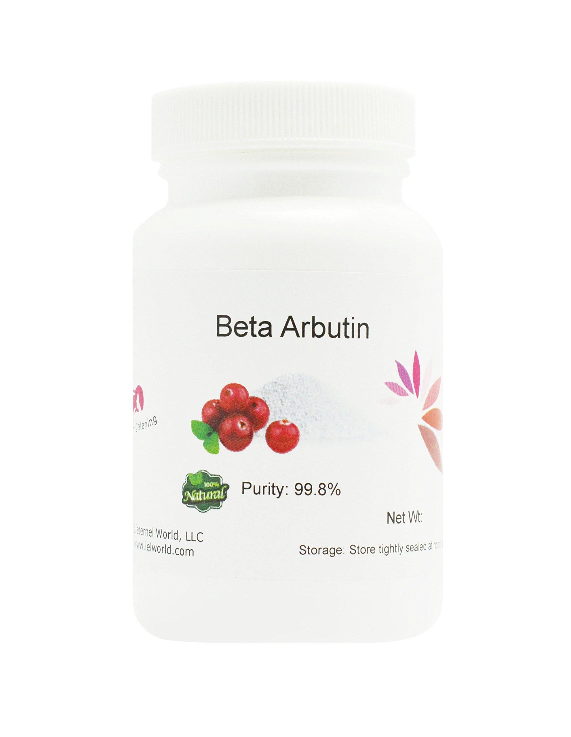 100% Natural Beta-Arbutin Powder, 99.8% Pure, 50g, Skin Lightening, Whitening