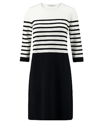 7cad3133853124 MAERZ Muenchen Damen Kleid Marine (52) 40  Amazon.de  Bekleidung