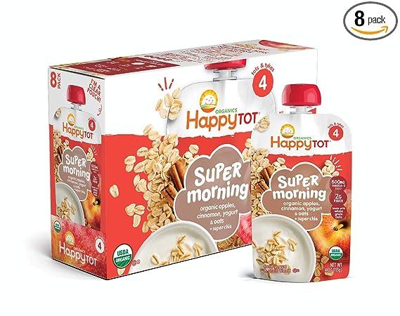 Bebida Super Morning de Happy Tot, de bananas, ará ...