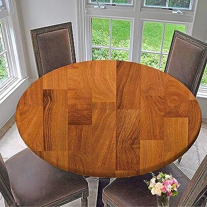 amazon com mikihome elasticized table cover wood texture machine rh amazon com elasticized table cover oval elasticized table cover square