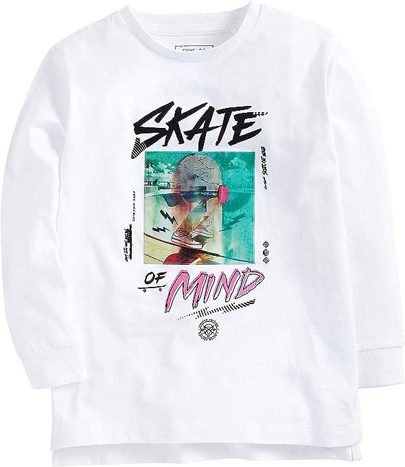 next Skate of Mind - Camiseta para niño Blanco 16 años ...