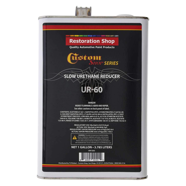 Restoration Shop FAST URETHANE REDUCER Gallon 60 TO 70 DEG. TEMP RANGE Auto P.