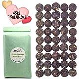(約5g×45粒入れ)プーアル茶 15種類の味(熟茶&生茶)小沱茶 中国茶 黒茶 雲南普洱茶 260g