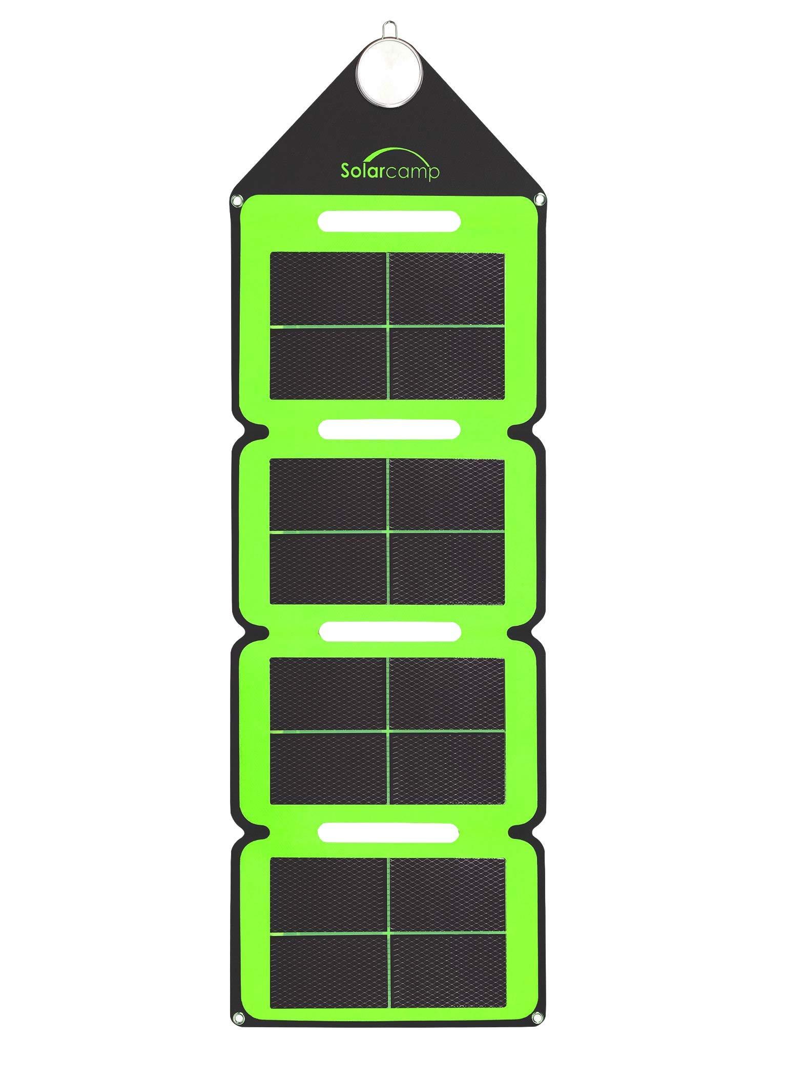 Cargador Solar Portatil de 7.6 Watts de Salida SOLAR CAMP Ve