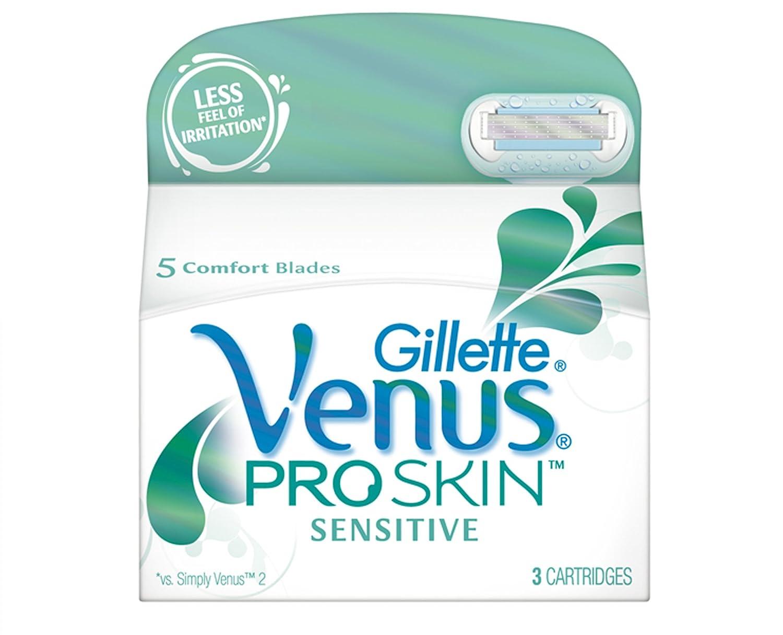 Gillette Venus Embrace Sensitive Razor Blades - Pack of 6 Procter & Gamble 84842160