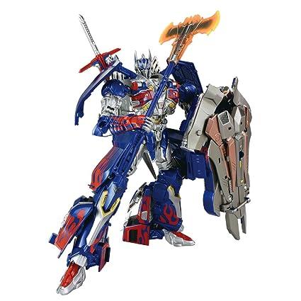 Takara Tomy TRANSFORMERS AOE AD31 EX Black Knight Optimus Prime Action Figure