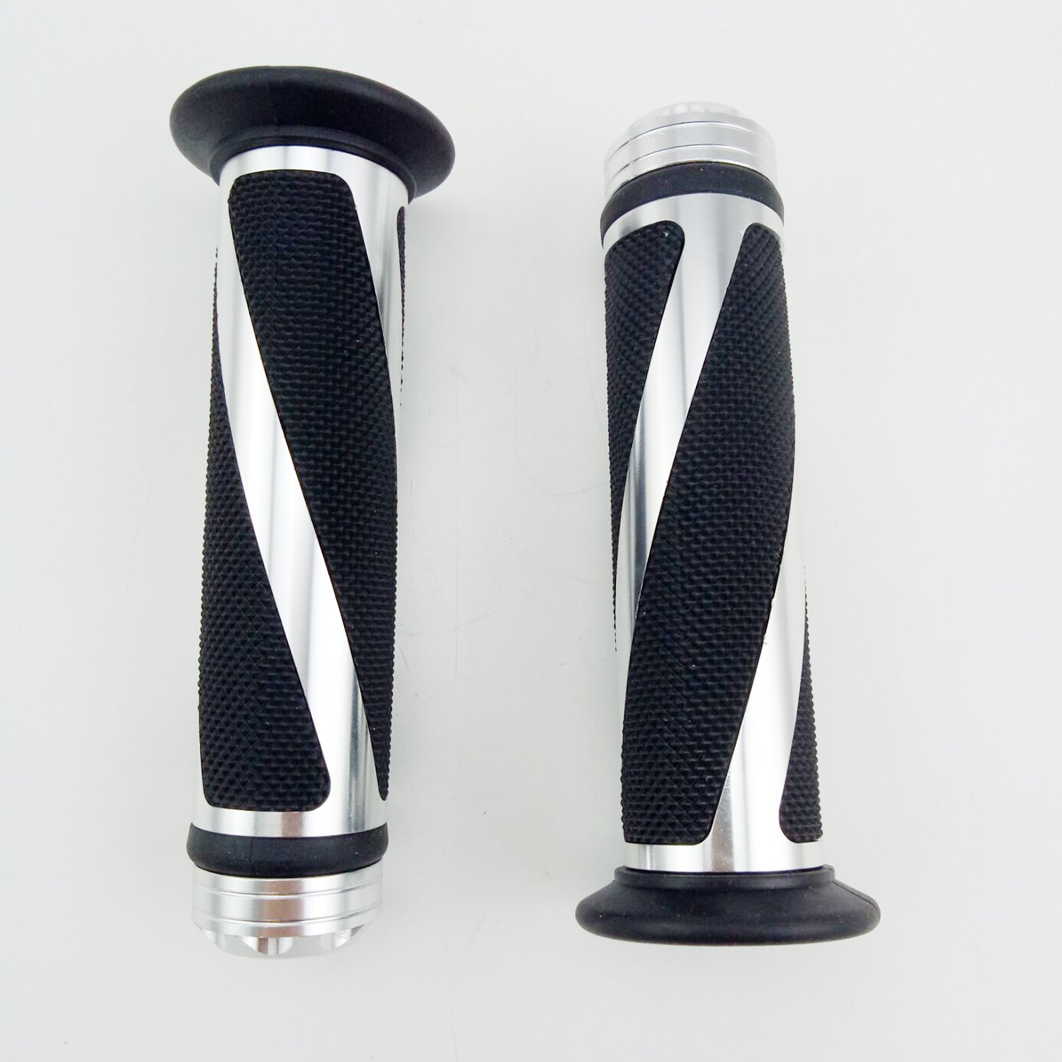 Blue OKSTNO Universal Motorcycle Rubber Gel Handlebar Hand Grips for 7//8 Bar End Handle Bars Sports Bikes