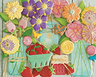 product image for Springbok's 500 Piece Jigsaw Puzzle Spring Cookies