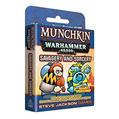 Munchkin Warhammer 40000 Savagery & Sorcery: Toys & Games