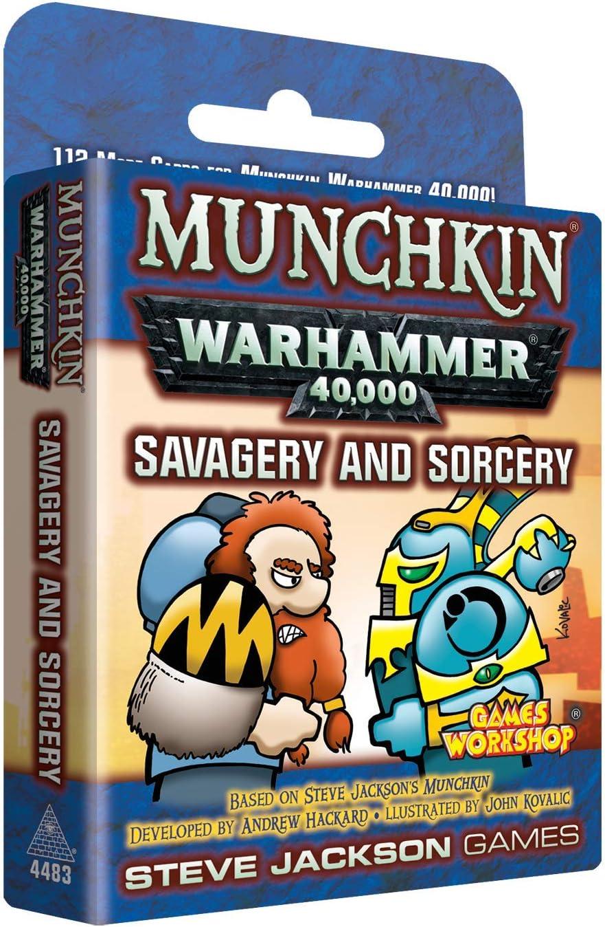 Munchkin Warhammer 40000 Savagery & Sorcery