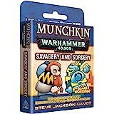 Steve Jackson Games Munchkin Warhammer 40000 Savagery & Sorcery, Multi-Colored (SJG04483)
