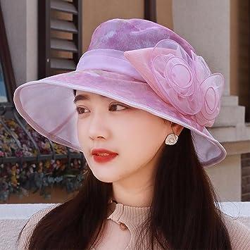 LIUXINDA-MZ Liuxinda - Sombrero de verano y primavera para mujer ... b57659265b6